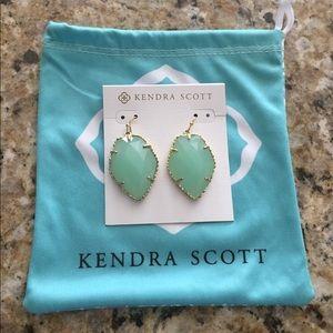 Kendra Scott Corley Drop Earrings In Chalcedony